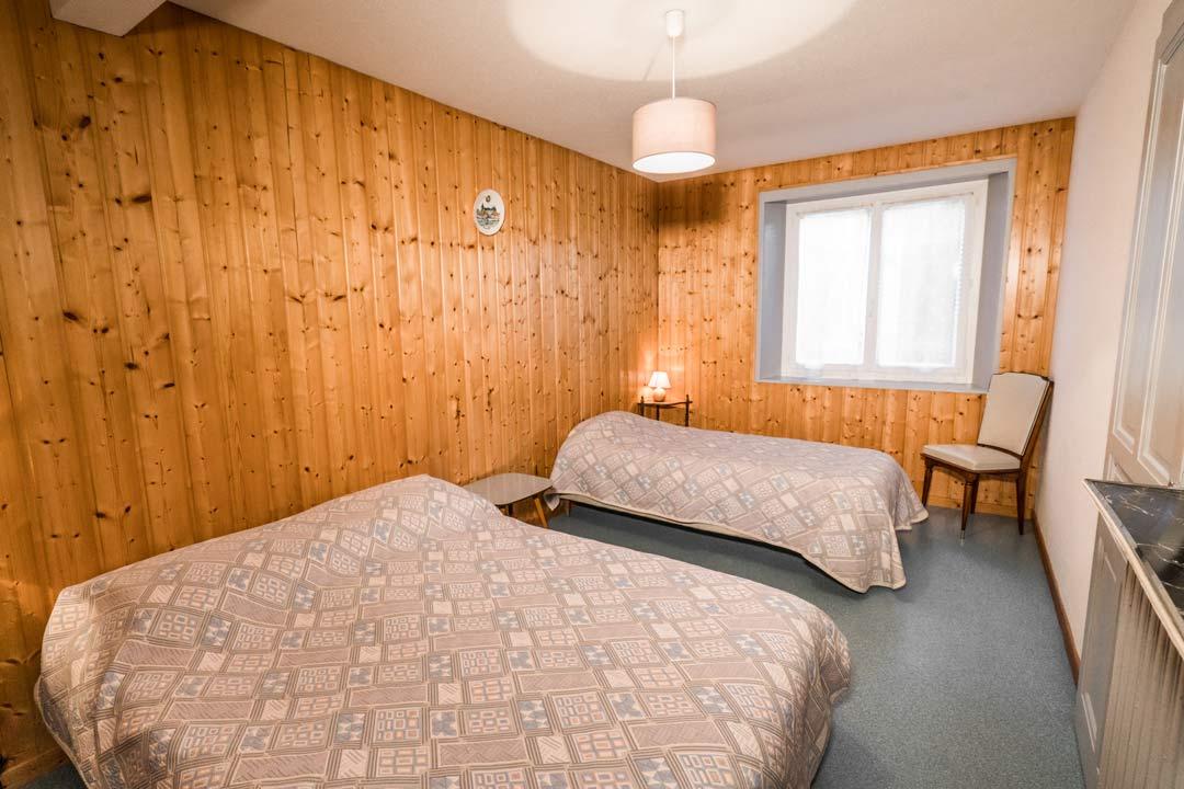 Gite les cacades, chambre 3 personnes - Gites les gentianes dans le Jura