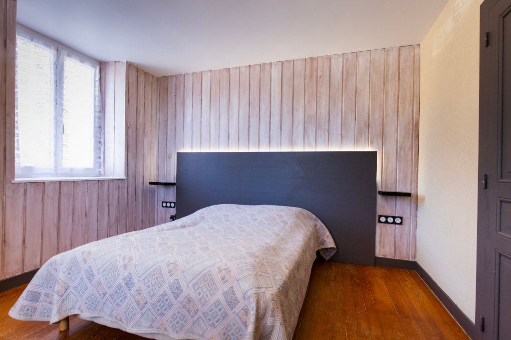 Gite chez nana, chambre 2 couchages couple - Gites les gentianes dans le Jura